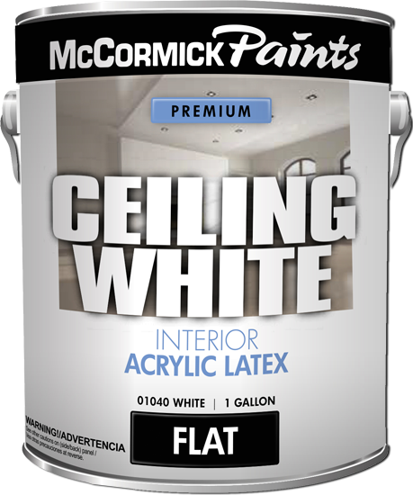 Краска Ceiling White (McCormick Paint, США)
