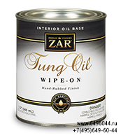 Zar Tung oil wipe-on finish